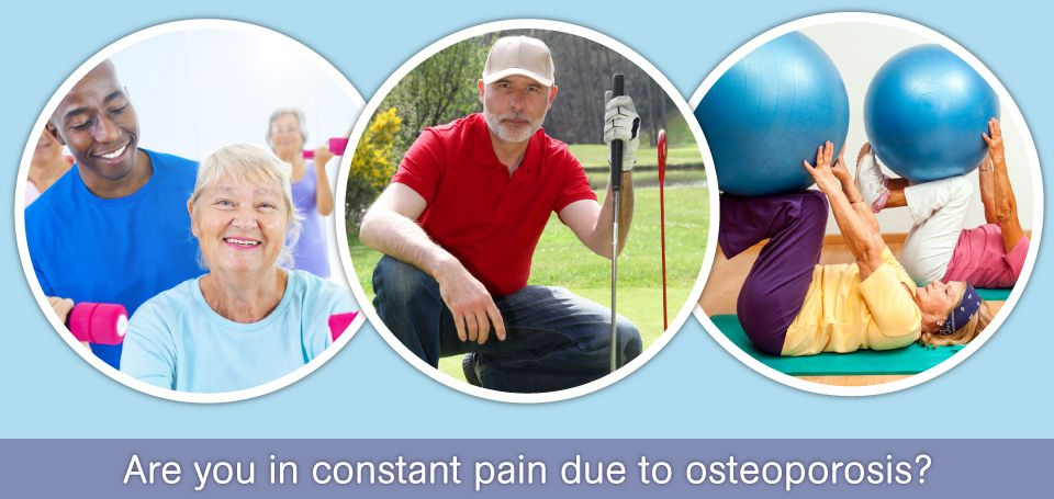 Are you in constant pain due to osteoperosis? weight lifting, exercising - Physiotherapy Services in Dartmouth