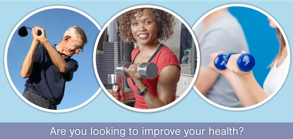 Are you looking to improve your health? golfer, exercise, weights - Physiotherapy Services in Dartmouth