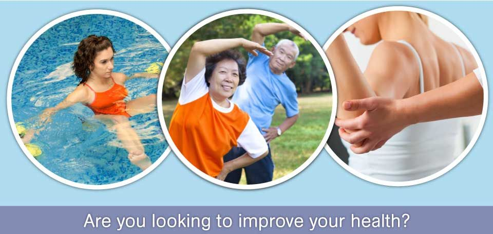 Are you looking to improve your health? pool aerobics, stretching, weight lifting - Physiotherapy Services in Dartmouth