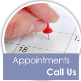 Appointments - Call Us - placing a pin in calendar